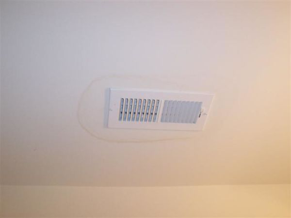 Why Are There Water Stains on My Ceiling Around the AC Vents?